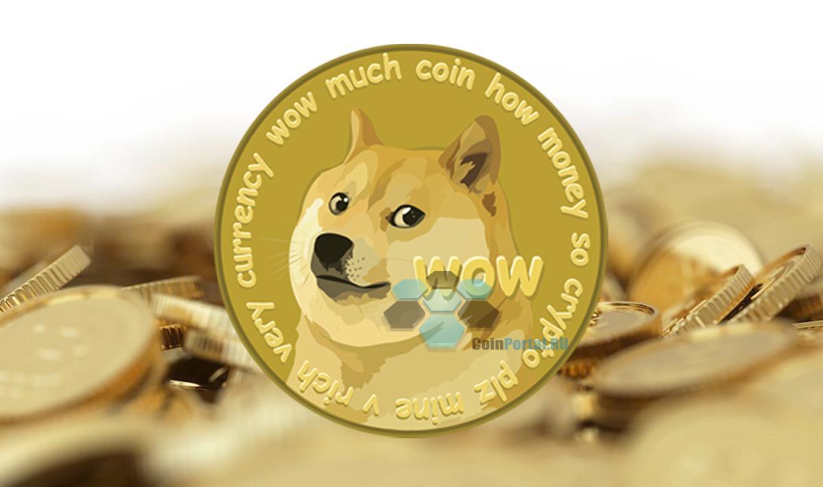 лого dogecoin