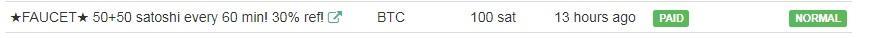 ★CoinPortal.ru Кран! BTC! 30% реф! 50+50 satoshi каждые 60 min. Нет POPUPS.