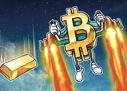 """Золотой фонд: биткойн снова превратит золото в """"мировые деньги"""""""