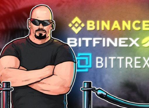 Binance, Bitfinex и Bittrex не регистрируют новых пользователей