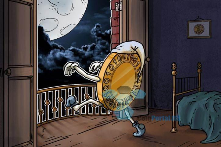 Биткойн падает по Лунному календарю?
