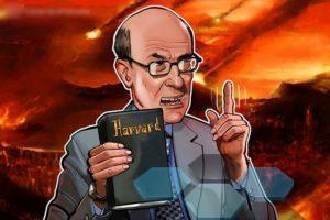 Профессор Гарварда предсказал коллапс биткойна из-за регулирования