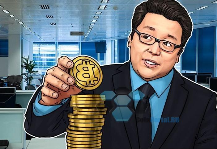 Том Ли ожидает BTC за 25000$ в 2018 году и призывает к покупке при низком рынке