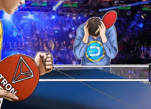 TRON врывается в первую десятку криптовалют, сместив Dash