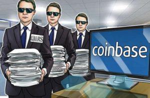 Coinbase уведомила 13К пользователей о требовании передать их данные в IRS
