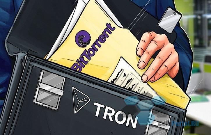 Создатель криптовалюты TRON приобрел BitTottent